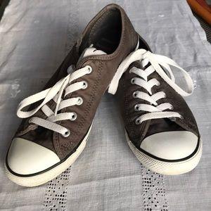 Women's converse sneakers gray